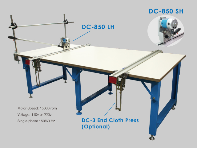 Dc 850 Series Manual End Cutting Machine For Heavy
